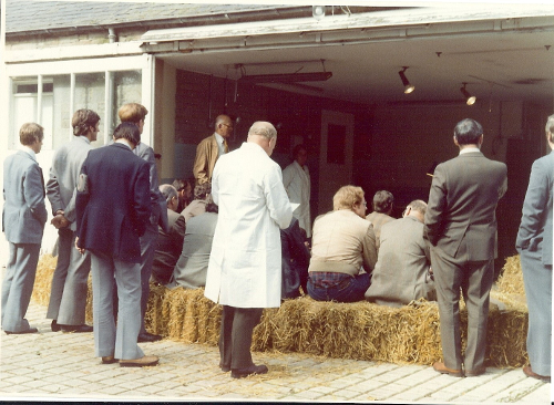 1977 Wallace Deas, Senior VIO discusses fertility testing of rams & pregnancy diagnosis in ewes