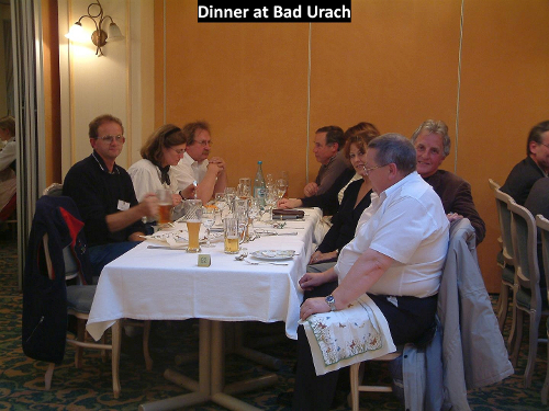 Dinner at Bad Urach