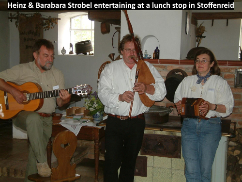 Heinz & Barbara Strobel in Stoffenreid