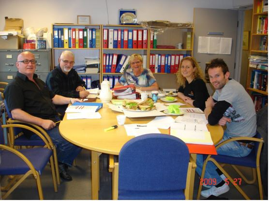 ISVC Stavanger, Norway, 2009. Parts of the Coordinating Committee